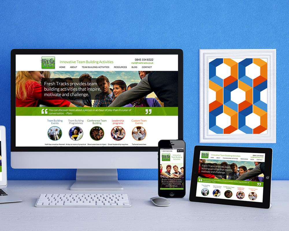Team Building Responsive Website Designs