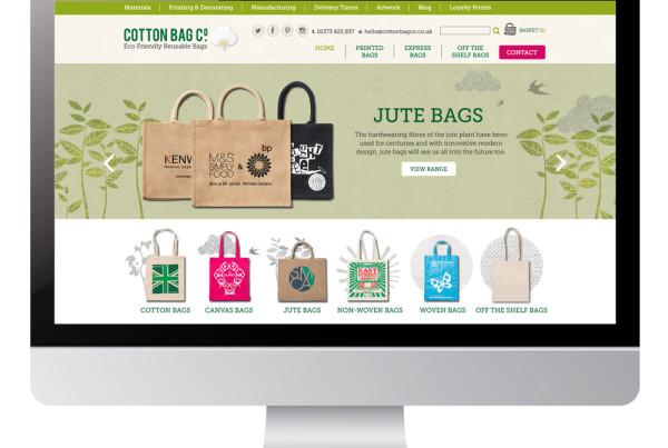 Cotton Bag Co digital design
