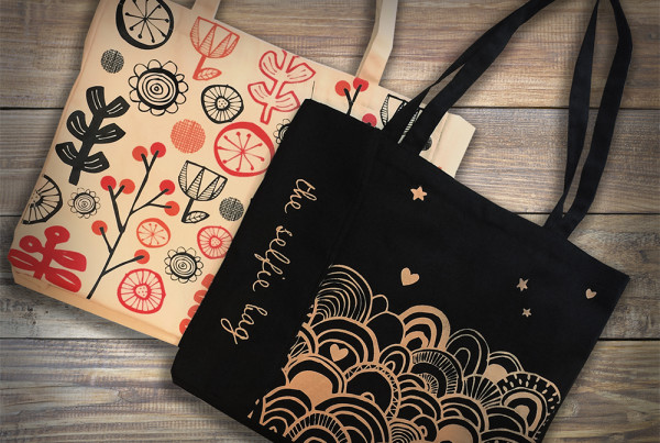 Illustrations for cotton bags